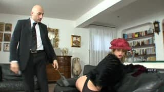 Caty Campbell gets completely sodomized and filled