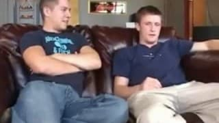 Two gay friends who enjoy sodomizing together
