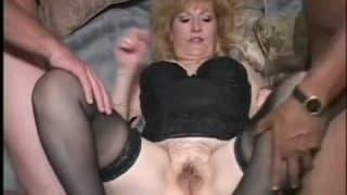 Two big dicks to satisfy mature