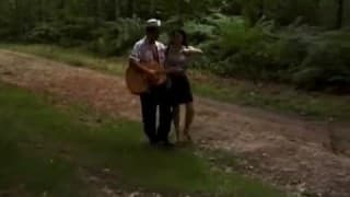 Hairy Arab fucked out in the woods