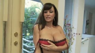 Lisa Ann getting her knee's dirty in great POV