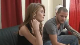 College Redhead finds some Dick