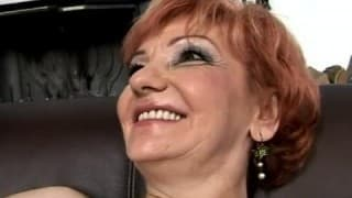 Crazy Old Biddy Banged Hard and Cum on