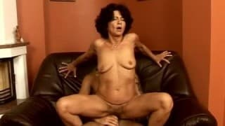 Young Guy loves Old Hairy Fanny
