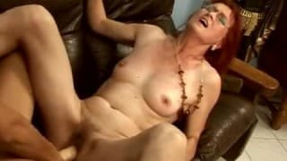 Mature Bitch Shared Between Young Slut and Horny Guy