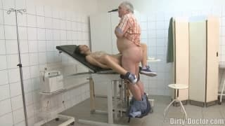 Hot Young Teen for Old Nasty Doctor