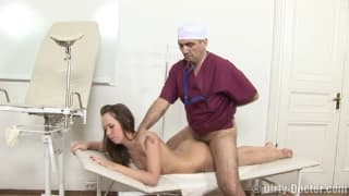 She is going to fuck with her doctor