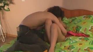 The last amateur video of a couple
