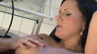 A pregnant woman fucked by a doctor!