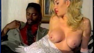 Moana Pozzi and a big black cock
