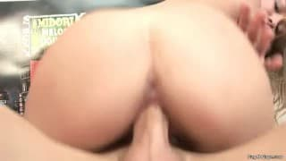 Hot assed young blonde
