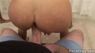Two huge cocks for Lisa