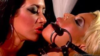 Bridgette B and Jayden James just love lesbian sex