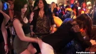Big cocks to suck in a nightclub