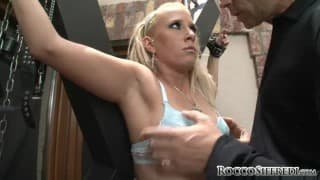 Tarra White received the big cock of Rocco