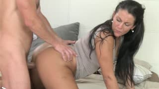 MILF loves it in doggy-style