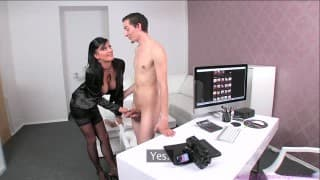 Chris sucked by the casting director