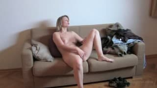 Ingrid- A pretty blonde in a casting