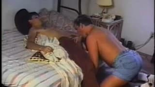 Vintage gay porn and a lot of cum