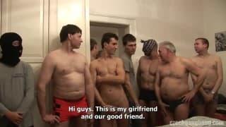 Friends fucked by 80 men