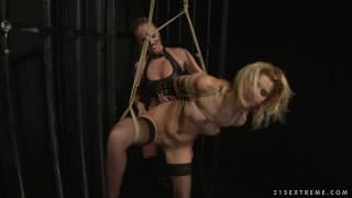 Cindy Hope & Dorina Gold in bdsm