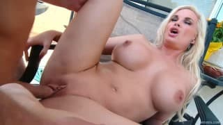 Diamond Foxxx- Step-mom fucked outdoor
