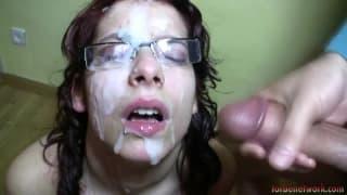 Zenda gets a Bukkake