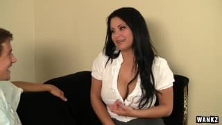 Sophia Lomeli a luscious brunette who never says no