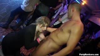 Sluts in a crazy nightclub