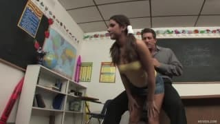 Tiffany Summers fucked by her professor