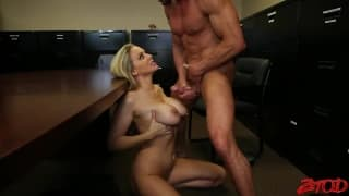 Julia Ann interracial office