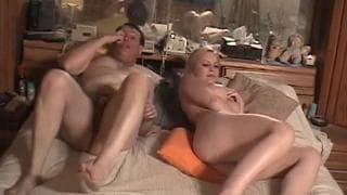 Meghan Edison - a porn scene with a mature man