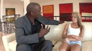 Aiden Aspen in a sex session with a black cock