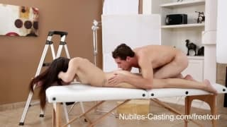 Holly Michaels and Ava Taylor in a Nubiles casting!