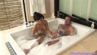 Asa Akira could be the queen of massages
