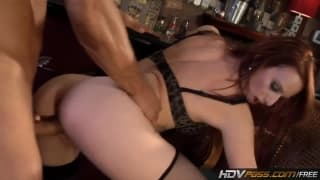 Audrey Lords- The MILF is getting laid in a bar