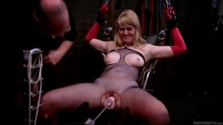 Emma Ash in a domination video