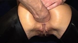 Excellent video of extreme anal fist fucking