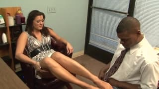 Cece Stone seems to be the perfect secretary to fuck!