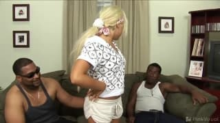 Interracial sex video with Patricia Petite