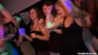 Watch this group of sluts enjoy their sex party
