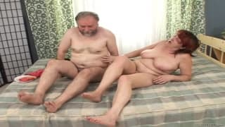 Ivona is a very horny old scoundrel