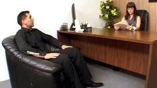 Carrie Ann wants to fuck in her office