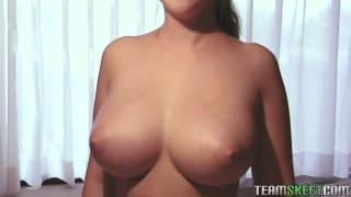 Felicia Clover has great big tits