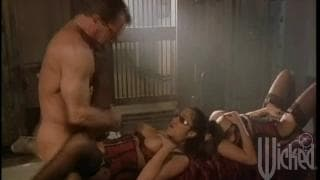 Austin Kincaid and Jenaveve Jolie in a threesome