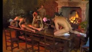 This french orgy has something for everyone