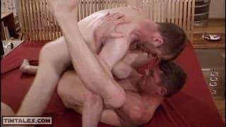 Aki Berg and Roman Karloff are two mega horny gays