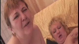 Amalie and Agata are mature lesbians