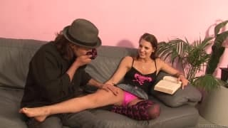 Roxy Wilde gets banged by and older dude