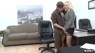 This milf Ashley Fires fucks her employee